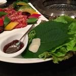 五穀亭 - 焼肉の葉っぱ
