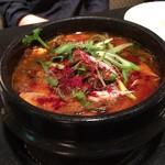 五穀亭 - ②ユッケジャンスープ