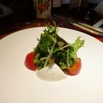 72786827 - フルーツトマトとモッツァレラのサラダ