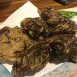 沖縄料理と島酒 星屑亭 - もずくの天ぷら