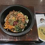 マンマデリ - 料理写真:石焼めんたい 税込¥700