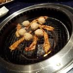 赤から - 「名物三種盛り・名古屋コーチン鶏つくね」