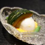 麻布十番松栄寿司 - いも、かぼちゃなど