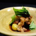 麻布十番松栄寿司 - 鴨の治部煮