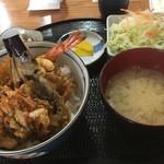 十勝ぶただん - 料理写真:天丼900円
