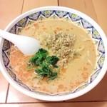 72794931 - タンタン麺(麺は刀切麺)