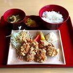 ジョイフル - 若鶏の唐揚げ定食¥490 2017.7.1