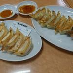 72798136 - A盛りと香蘭の焼餃子