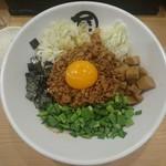 麺やマルショウ - 台湾まぜそば 780円