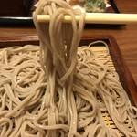 蕎麦 月読 - 【2017.8.23】十割蕎麦。