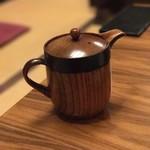 蕎麦 月読 - 【2017.8.23】蕎麦湯。