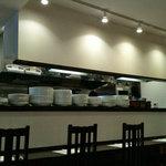 魚のスープ ZUPPA DI PESCE - 店内カウンター席