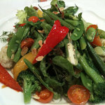 魚のスープ ZUPPA DI PESCE - 春野菜たっぷりのサラダ