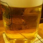 酒ダイニング つじ丸 - 生ビール中