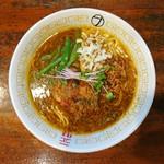 麺屋 さすらい - 2017年9月 カレーらーめん 750円