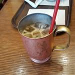 上島珈琲店 - 黒糖ミルクコーヒー