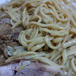 ラーメン二郎  - (2017.5.2)麺アップ