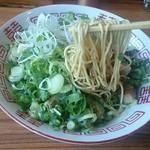 麺や食堂 - 細麺ストレート   パッツン麺