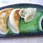 中華そば あまの屋 - 手作り餃子ハーフ