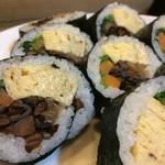 檜垣 - 売りが巻きと箱なので、根性の込められた巻き寿司でした♪(2017.9.9)