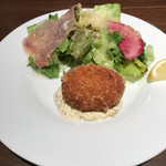 Kitchen Ichimatsu - 少し酸味があるタルタルソースがとても良く合う