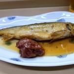 家庭料理 小川 - 鮎の梅煮