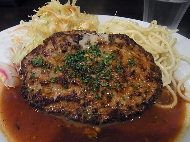 洋食 ツバキ亭 - ハンバーグステーキ
