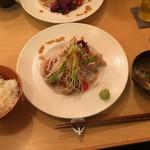 想作料理しのや - 知床鶏油淋鶏 900円