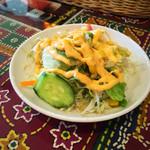 ウパハル - セットのサラダ