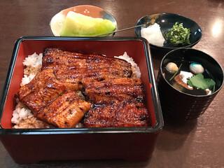 うなぎ料理 あつみ - うな重3850円(税込)