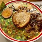 九州じゃんがららあめん - 夜のこぼんしゃん お昼に行ったのに食べれた