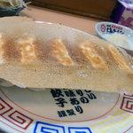 大島ラーメン - 羽付き餃子