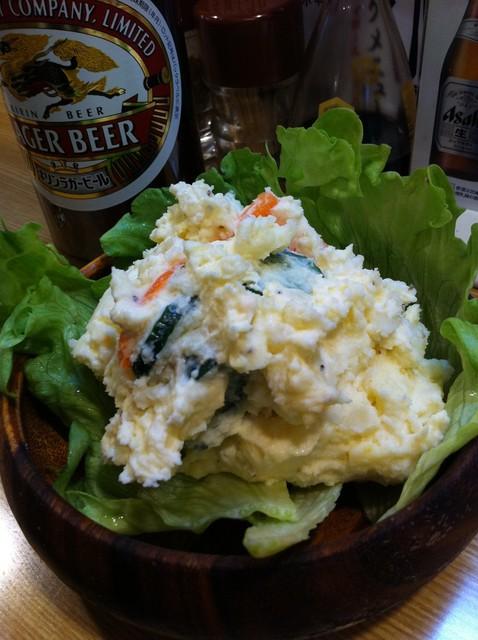こまどり - ポテトサラダ