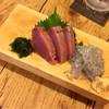 泰平 - 料理写真:鰹刺しと生しらす
