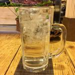 泰平 - 芋焼酎水割り