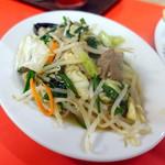 第一食堂 - レバニラ炒め単品600円