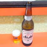 第一食堂 - 瓶ビール600円