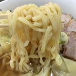 喜多方ラーメン坂内・小法師 - 麺