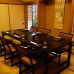 魚勝 - 個室の椅子席6~8名様