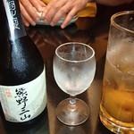 喜楽 - 熊野三山と梅酒ソーダ割り