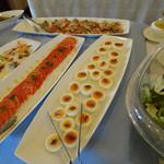 モンレーヴ・カフェ - 料理(セゾンコース1200円)