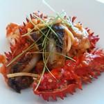 72813668 - 花咲蟹とフレッシュトマトのタリオリーニ