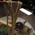 72814012 - かけ蕎麦は、北海道産玄蕎麦に2割強のつなぎ