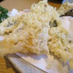 魚河岸 丸天 - 地魚天ぷら3種盛り