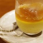 虎穴 - トウモロコシの冷製スープ