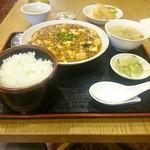 72815222 - 麻婆豆腐ランチ