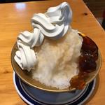 コメダ珈琲店  - ピーチティー&ソフト氷 760円(税込)