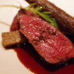 リストランテ ラ・バリック トウキョウ - 馬ヒレ肉のグリル、バローロソース