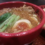 Kobushi - つけ汁(とっても具沢山!!)