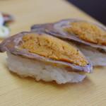 湖里庵 - 鮒鮓の握り鮨